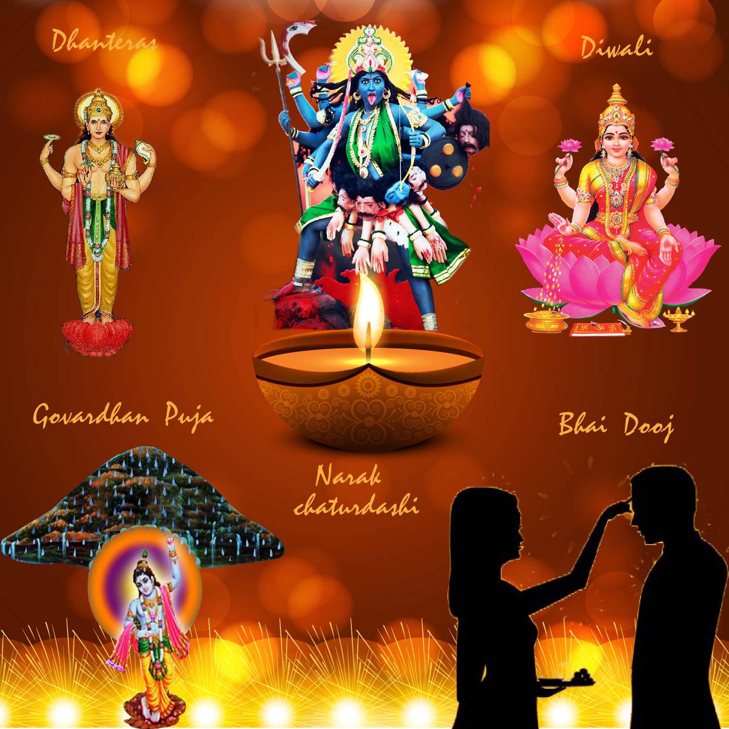 Of Diwali Goverdhan Puja Bhaiya Dooj Wealth & Prosperity