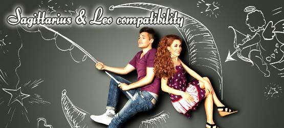Sagittarius Leo compatibility Banner