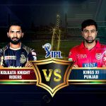 Kolkata v/s Punjab Saturday 12 May 2018 16.00 Indore