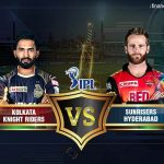 Kolkata v/s Rajasthan Saturday 19 May 2018 20.00 Hyderabad