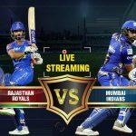 Rajasthan v/s Mumbai Sunday 13 May 2018 20.00 Mumbai