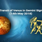 Transit of Venus in Gemini Sign (14th May 2018)