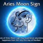 Aries Moon Sign