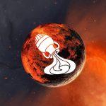 Transit of planet Mars in Aquarius Sign