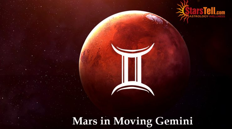 What is The Effects of Mars in Moving Gemini 2019?