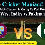 West Indies vs Pakistan, Second Cricket Match 2019 Prediction : Starstell.com