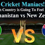Match 13 - Afghanistan vs New Zealand