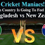 Match 9 : Bangladesh Vs New Zealand