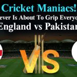 Match 6: England Vs Pakistan : Starstell