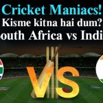 Match 8: India Vs South Africa