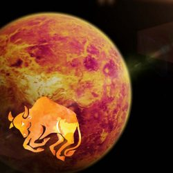 Strong Venus in Her own sign Taurus will bring good days