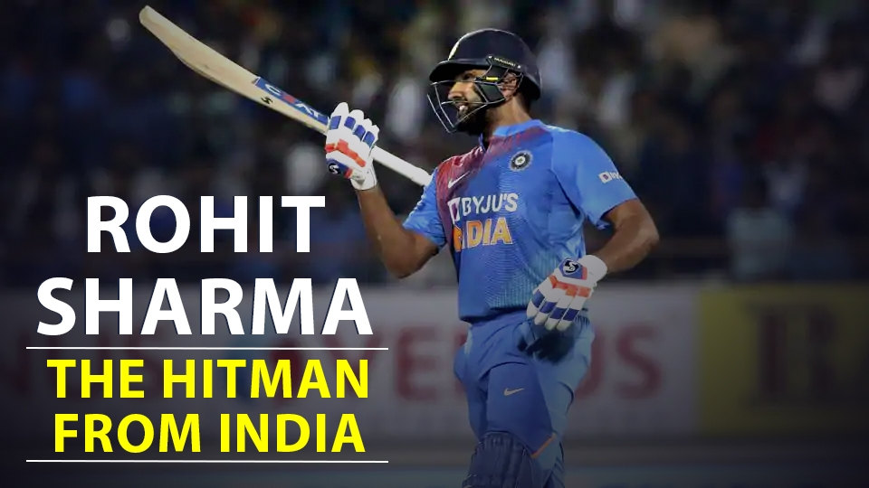 Rohit Sharma  the hitman from india