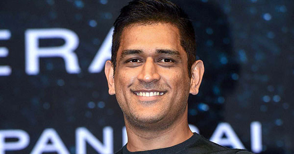 Celebrity of The Month M.S. Dhoni