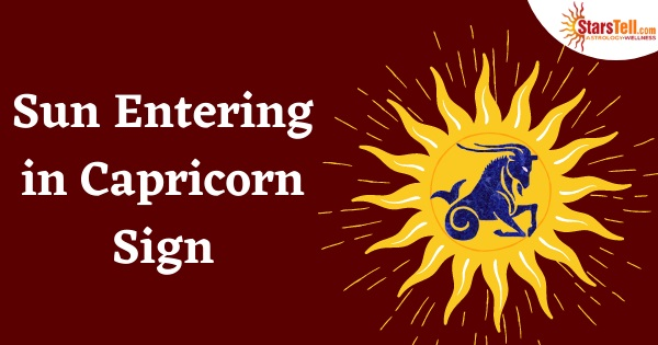 Sun Entering in Capricorn Sign