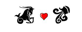 Capricorn Love Compatibility with Aquarius