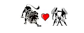 Leo Love Compatibility with Gemini