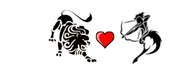 Leo Love Compatibility with Sagittarius
