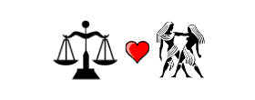Libra Love Compatibility with Gemini
