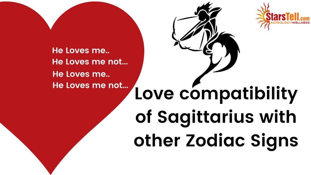 Sagittarius Love Compatibility with other Zodiac signs