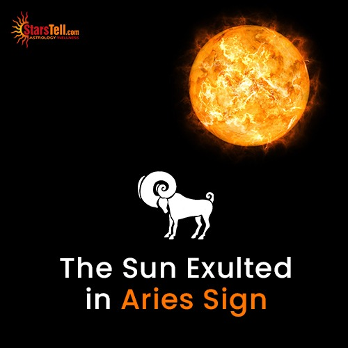 The Sun Exulted in Aries Sign