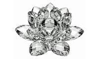 Starstell, Vastu, Feng Shui, Transparent Crystal Lotus, Transaprent Crystal Lotus Flower, Transparent Lotus Flower, Starstell Vastu Feng Shui Transparent Crystal Lotus Flower