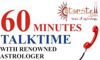 60 Minutes Talktime with Renowned Astrologer