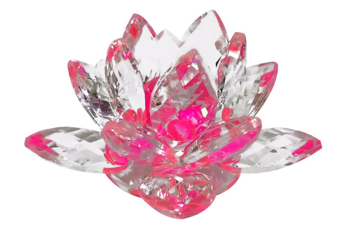 Pink Crystal Lotus Original Vastu Items